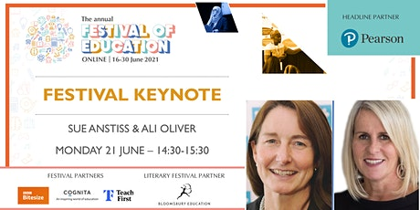 Festival of Education   Keynote - Sue Anstiss & Ali Oliver tickets