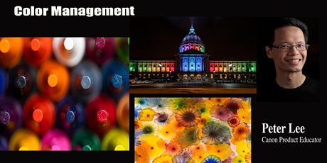 Color Management: Learn Color from Input to Output  - Live Online tickets