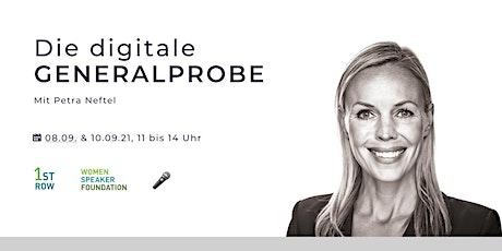 Die digitale GENERALPROBE - Online Präsentationstraining Tickets