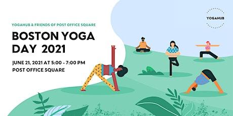 Boston  International Yoga Day 2021 Hybrid Event - FREE tickets