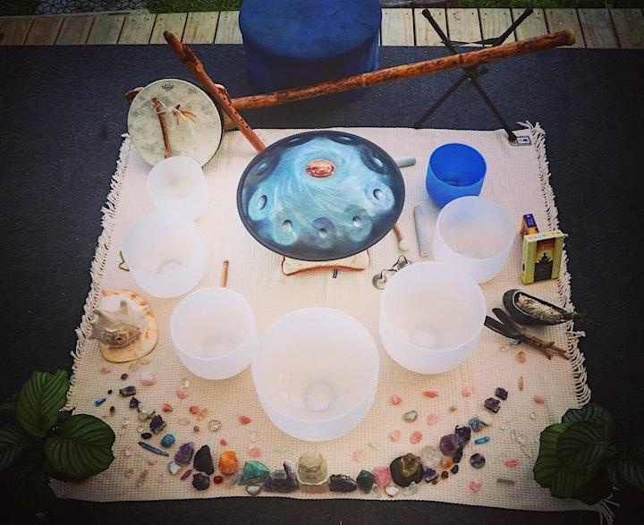 Sound Bath Meditation and Lavender Elixir Ceremony with Chloe Palmer image