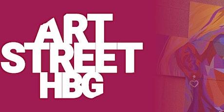 ARTSTREETHBG-  Vandrande vernissage tickets