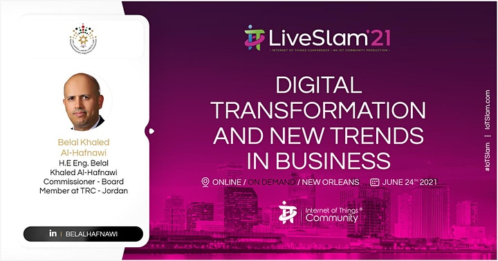 IoT Slam Live 2021 Internet of Things Conference image