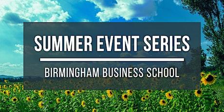 Summer Series - Dissertation Workshop with BBS Director of PGT tickets