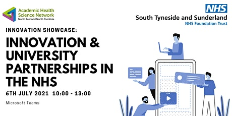 Innovation & University Partnerships in the NHS tickets