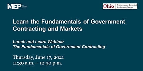 Learn the Fundamentals of Government Contracts and Markets tickets
