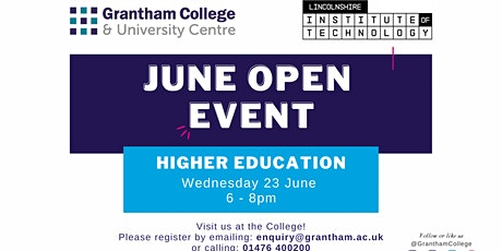 Higher Education Open Event tickets