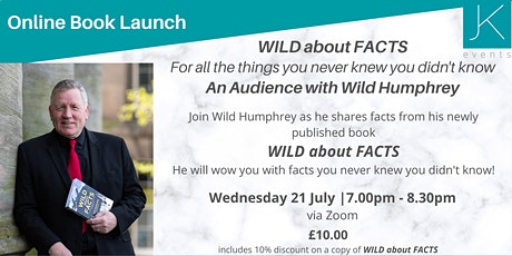 Book Launch WILD about FACTS - An Audience with Wild Humphrey tickets