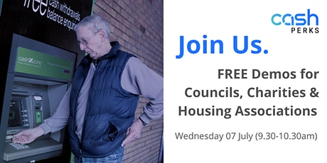 Demonstration Session for Councils,  Charities and Housing Associations) tickets