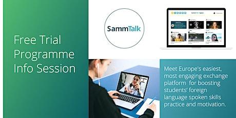 SammTalk Programa Free Trial Sesión Informativa 1 (Español) ingressos