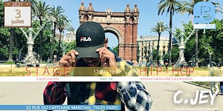 STAGE HIP-HOP C.Jey billets