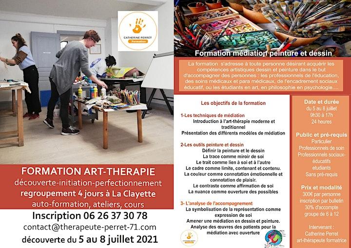 Image pour Formation médiation peinture et dessin art-thérapie