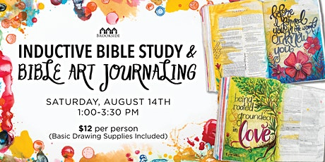 Inductive Bible Study and Bible Art Journaling tickets