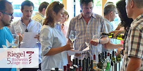 Weinfest bei Riegel Bioweine - 5. Bioweintage Tickets