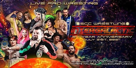 5CC Wrestling: INTERGALACTIC tickets