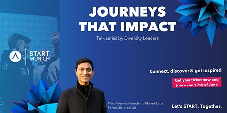 Journeys that impact: Manush Labs - Fostering an inclusive entrepreneurship tickets