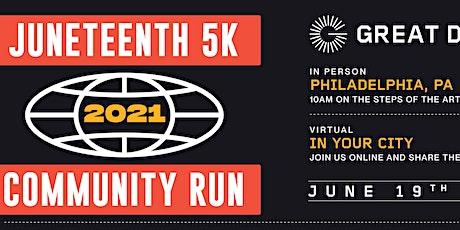 Juneteenth Community Run tickets