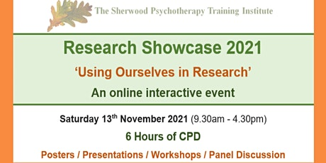 Research Showcase 2021 tickets