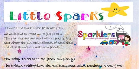 Little Sparks Baby Group Thursday mornings tickets