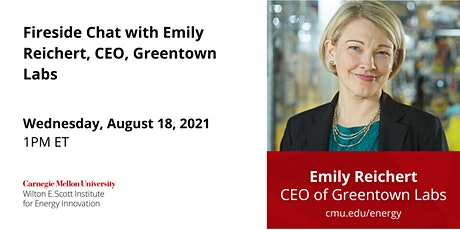 Fireside Chat with Emily Reichert, CEO, Greentown Labs tickets