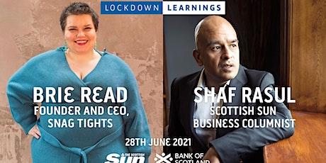 Lockdown Learnings tickets