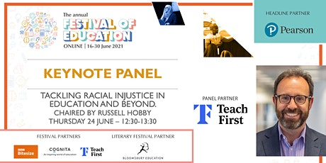 Festival of Education  | Tackling racial injustice in education and beyond tickets