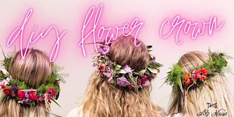 DIY Flower Crown Class tickets