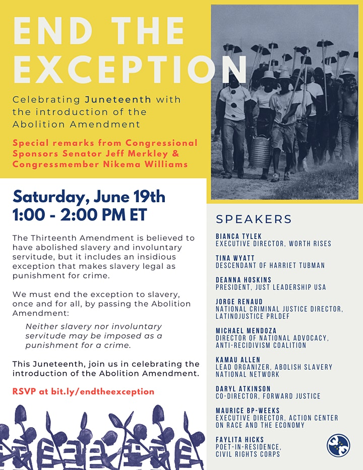 End The Exception: Celebrating Juneteenth with the Abolition Amendment image