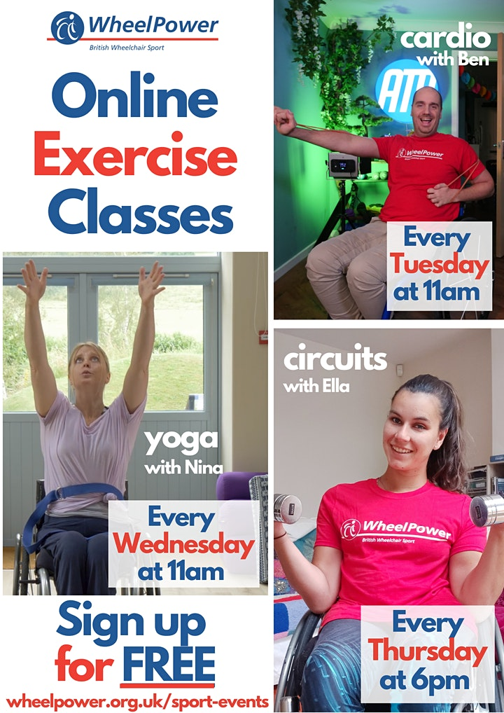 Online Exercise Class with Ella Beaumont (WheelPower) image