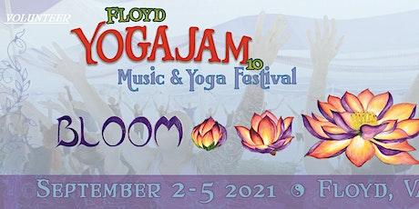 Yoga Jam Volunteeer Application Fee tickets