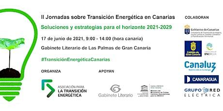 II Jornadas Transición Energética en Canarias entradas