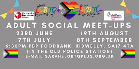 LGBTQ+ Adult Social (18 and over) tickets