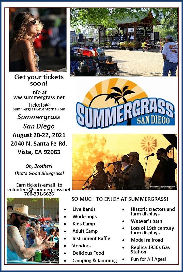 Summergrass 2021 Advance Discount Until Aug 15 image