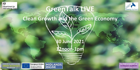 Clean Growth and the Green Economy tickets