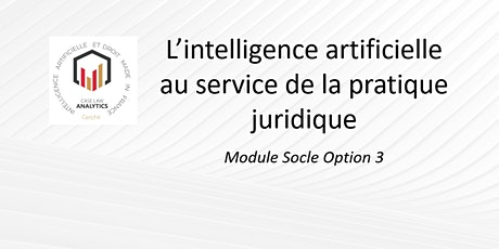 L'intelligence artificielle au service de la pratique juridique billets
