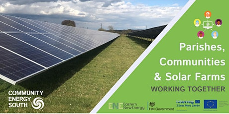 How  can Parish Councils & Communities  benefit from  solar farms? tickets