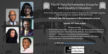 Windrush Day: The importance of diversifying the curricula tickets