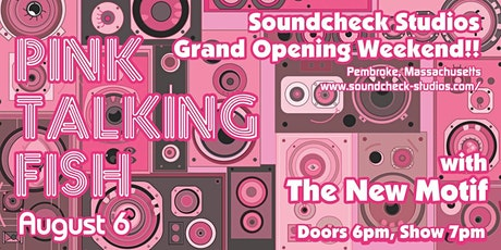 Pink Talking Fish w/ The New Motif tickets