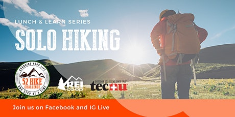 Solo Hiking with 52 Hike Challenge Co-founders Karla and Phillip tickets