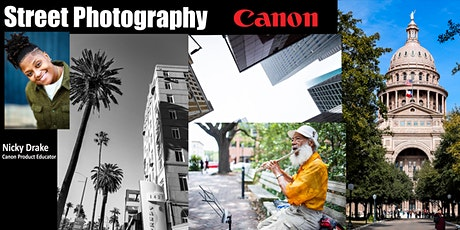 Street Photography with Canon  - Live Online biglietti