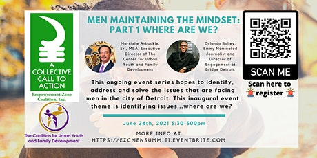 Men Maintaining the Mindset: Part 1 Where are we? tickets