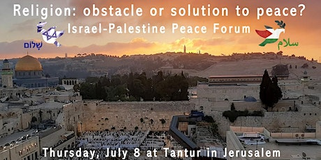 Israel-Palestine The Great Debate, Religion: obstacle or solution to peace? tickets