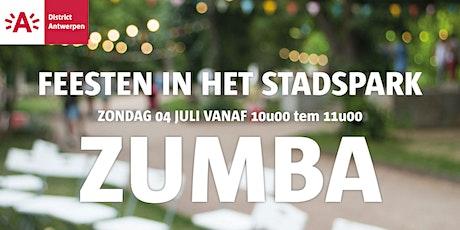 Feesten in het Stadspark 2021 - ZUMBA tickets