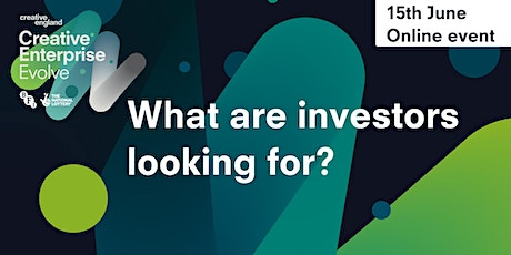 What are investors looking for? tickets
