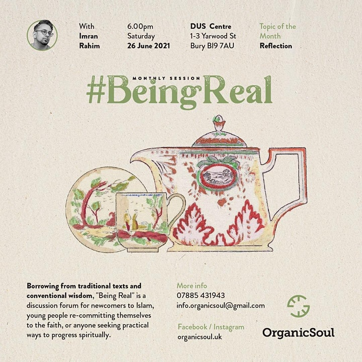 Being Real -  The Re-launch - June 2021 image