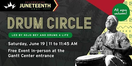 Juneteenth Drum Circle with Drums 4 Life tickets