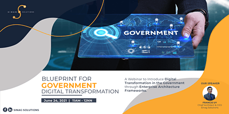 Blueprint for Government Digital Transformation tickets