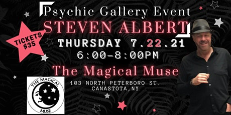 Steve Albert: Psychic Gallery Event - Magical Muse tickets