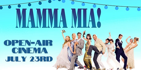 Mamma Mia Open-air Cinema with Late Night Bar tickets