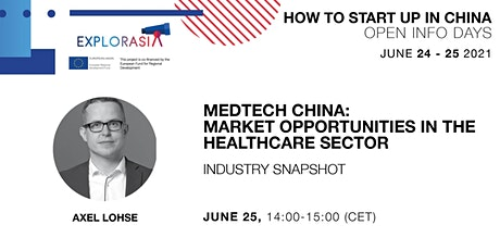 MedTech China: Market Opportunities in the Healthcare Sector Tickets